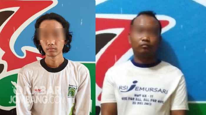 Dua tersangka pil doubel L asal Gudo Jombang