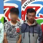 Keempat tersangka sabu-sabu di Polres Jombang