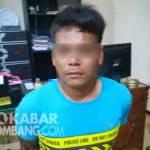 Tersangka jambret di Polres Jombang
