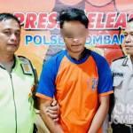 Tersangka penganiayaan di Polsek Jombang