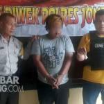 Tersangka pil Koplo di Polsek Diwek, Jombang