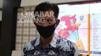Koordinator Bidang Komunikasi Publik Satgas Penanganan Covid-19 Jombang Budi Winarno. Dok KabarJombang.com