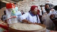 beras bansos PKB di bulog jombang