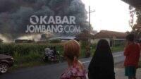 pabrik ayam mojowarno jombang terbakar