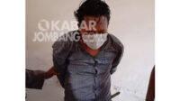 Pria asal Mojokerto pelaku pencopetan di Mojoagung Jombang, Selasa (29/12/2020).