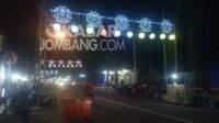 Lokasi sentra PKL di Jombang Kuliner sepanjang jalan Dr Soetomo. KabarJombang.com/Diana Kusuma/