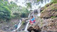 Air terjun Grenjeng di Desa Jenisgelaran, Kecamatan Bareng, Kabupaten Jombang. KabarJombang.com/Daniel Eko/