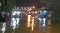 Banjir menggenangi Desa Selorejo Kecamatan Mojowarno dan Kademangan Mojoagung. Kabarjombang.com/Istimewa/