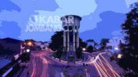 Ringin Contong, titik nol sekaligus landmark Kabupaten Jombang, Jawa Timur.