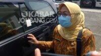 Kadinkes Jombang, drg Subandriyah, Kamis (7/1/2021). KabarJombang.com/Diana Kusuma/