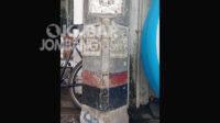 Tugu titik nol kilometer Jombang yang berada di kawasan Pasar Legi Jalan A. Yani kondisinya tidak terawat. Kabarjombang.com/Daniel Eko/