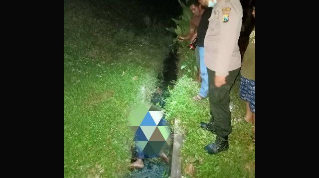 Penjual kerupuk tewas tertabrak KA di Mlaras Sumobito. Kabarjombang.com/Istimewa/