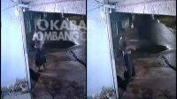 Tangkapan layar aksi pencurian burung di Megaluh Jombang terekam CCTV. KabarJombang.com/Istimewa/