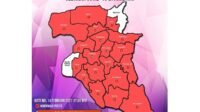 Peta sebaran covid Jombang