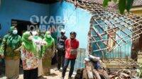 Rumah Ambruk Diterjang Banjir Bandang Mulai Dibangun Besok