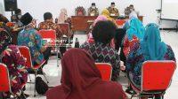 Dinas Pendidikan dan Kebudayaan (Disdikbud) Kabupaten Jombang, melalui bidang pembinaan ketenagaan menggelar sosialisasi program induksi guru pemula jenjang SD Tahun 2021, Kamis (18/2/2021). (Istimewa)
