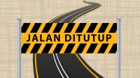 Ilustrasi Rekayasa Arus Lalin Pembangunan Jembatan Ploso Jombang