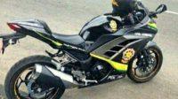 Motor sport Kawasaki Ninja 250R untuk pengawalan dan operasional Satpol PP dan Dishub Jombang.