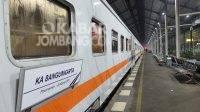 Kereta Api Bangunkarta. KabarJombang.com/Istimewa