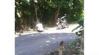 Motor aparat desa Ngusikan dibawa orang gila. KabarJombang.com/Istimewa/