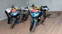 Motor patwal Kawasaki Ninja 250R Dinas Perhubungan Jombang. KabarJombang.com/Anggraini Dwi/