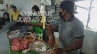 Kedai nasi bali tersenyum di di jalan RE Martadinata. KabarJombang.com/Diana Kusuma/