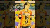 Pemain tim nasional bola voli, Dewi Wulandari. KabarJombang.com/istimewa/