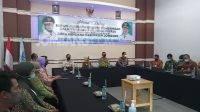 Kunjungan kerja Bupati Jombang ke Perumdam Tirta Kencana Jombang. KabarJombang.com/Daniel Eko/
