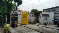 Lokasi diduga untuk relokasi pedagang kaki lima (PKL) di Jalan Ahmad Dahlan No 19 Jombang. KabarJombang.com/KFM News Research Center/
