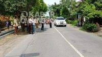 Polisi melakukan olah TKP tabrakan beruntun di jalan raya Diwek, Kabupaten Jombang, Senin (29/3/2021). KabarJombang.com/Istimewa/