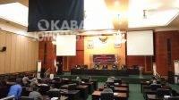 Paripurna DPRD Kabupaten Jombang. KabarJombang.com/Anggraini Dwi/