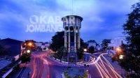 Ringin Contong, titik nol sekaligus landmark Kabupaten Jombang, Jawa Timur. Foto: dok Kelompok Faktual Media (KFM)
