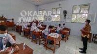Pembelajaran tatap muka di Kabupaten Jombang, Selasa (6/4/2021). KabarJombang.com/Anggraini Dwi/