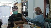 Proses vaksinasi covid-19 di Jombang. KabarJombang,com/Daniel Eko/