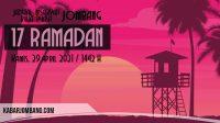 jadwal imsak dan buka puasa jombang 17 ramadan 2021