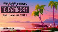 jadwal imsak dan buka puasa jombang 18 ramadan 2021