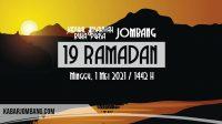 jadwal imsak dan buka puasa jombang 19 ramadan 2021