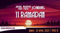 jadwal imsak dan maghrib buka puasa jombang 11 ramadan 2021