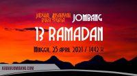 Jadwal imsak dan maghrib jombang hari ini 13 ramadan 2021