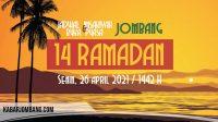 jadwal imsak dan maghrib jombang hari ini 14 ramadan 2021