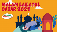 Ilustrasi Malam Lailatul Qadar 2021