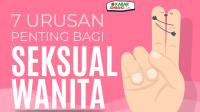 Infografis 7 Urusan Penting Bagi Seksual Wanita