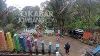 Wisata batu pelangi di Wonosalam, Jombang. KabarJombang.com/Daniel Eko/