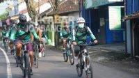 Komunitas LCC Jombang saat gowes rutin.