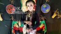 Ririn Ariyanti (15) sinden cilik asal Desa Mojoduwur, Kecamatan Mojowarno, Kabupaten Jombang. KabarJombang.com/Istimewa/
