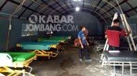 Tenda darurat perawatan pasien covid-19 di RSUD Jombang. KabarJombang.com/Diana Kusuma/