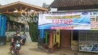 Wisata Sumber Biru di Wonosalam, Jombang ditutup.