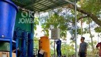 Proses pemantauan deionisasi air di wilayah Satradar 222 Jombang. Kabarjombang.com/Istimewa/