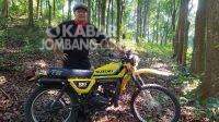 Menengok Pecinta Motor Trail Jadul di Jombang, Berjaya di Era Film Rhoma Irama