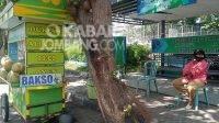 Imbas PPKM Darurat, PKL di Jalan Gus Dur Jombang Menangis